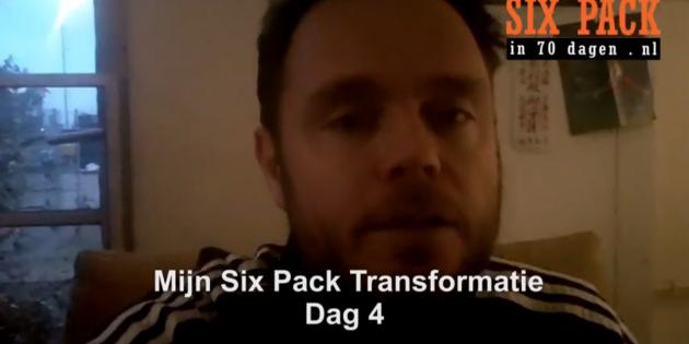 six pack oefeningen dag 4